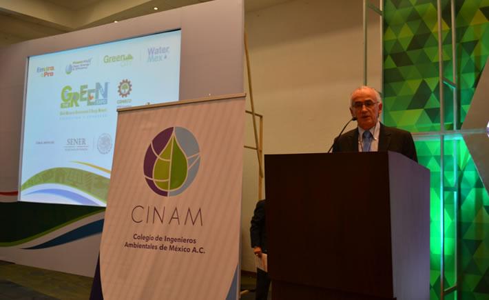 José Navarro, director General de EJ Krause destaca el rol de México en materia ambiental frente a otros países de América Latina. (Foto: Vanguardia Industrial)