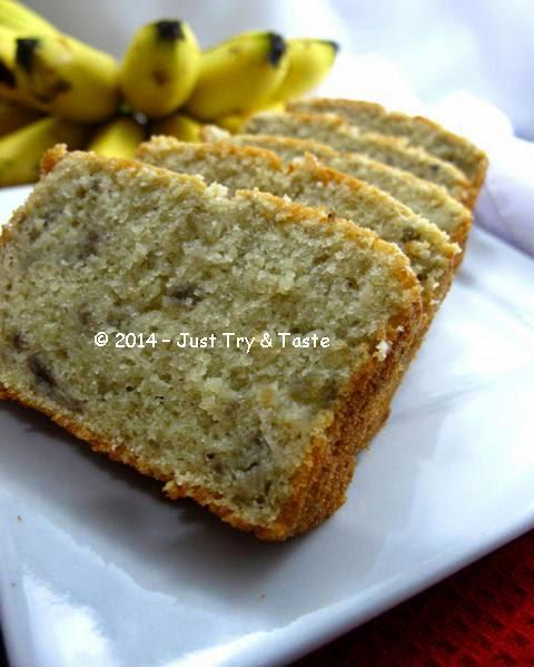 5 Bahan Saja Untuk Cake Pisang Yang Very Very Very