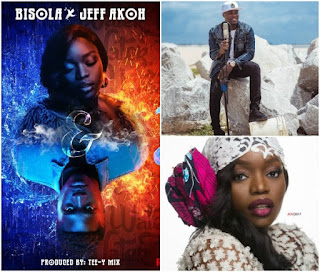 """Bisola Features With Jeff Akoh To Drop A Melodious Music Video Tittled """"Fire And Water"""""""