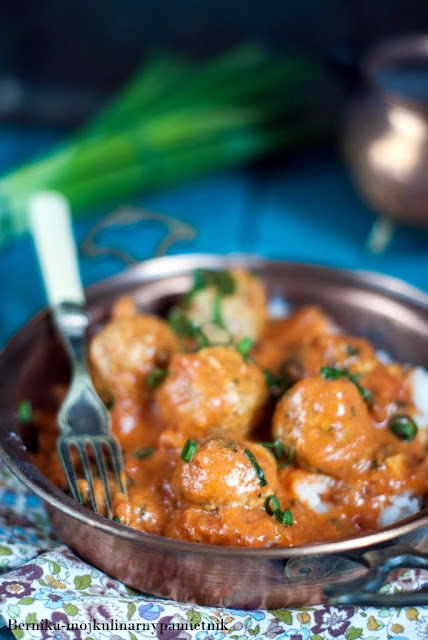 mieso mielone, wolowina, kofta curry, curry, kofta, bernika, indie, kulinarny pamietnik, obiad
