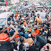 Davido Mobbed By Supporters As He Arrives Osogbo For Mega Rally