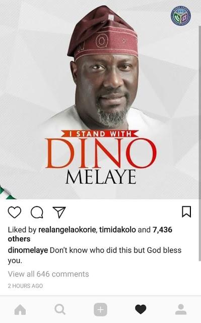 Dino Melaye bounces back, says I will not shut up
