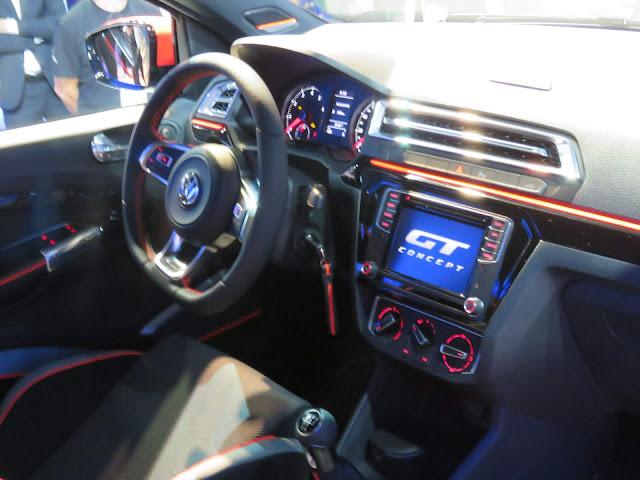 Volkswagen Gol GT Concept 2017 - interior