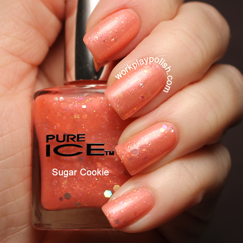 Pure Ice Sugar Cooking Swatch (work / play / polish)