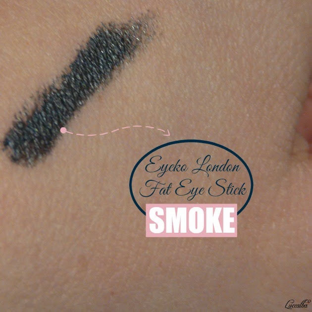 SWATCH EYEKO LONDON FAT EYE STICK SMOKE