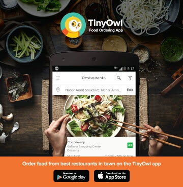 Order from TinyOwl App & get ₹150 cashback