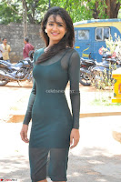 Simran Choudhary Cute beauty with dimples in transparent Green Tight Short Dress ~  Exclusive 029.jpg