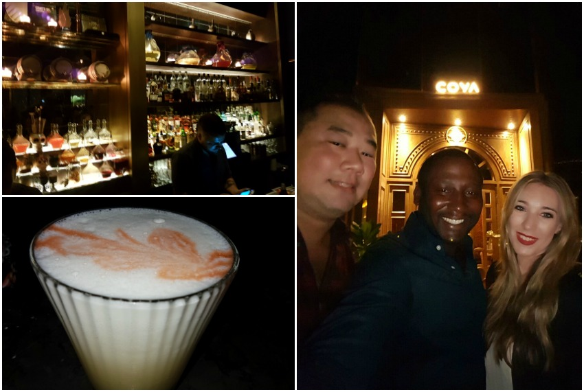 Coya Bar at Four Seasons Jumeirah Beach Dubai
