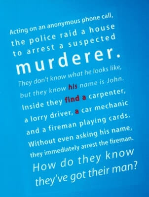 Lateral Thinking Puzzle-Murder Mystery