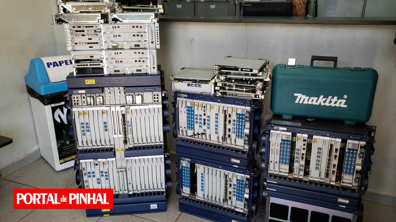 Polícia prende quadrilha e recupera equipamentos avaliados em R$ 15 milhões em Aguaí