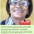 Internada no Recife, Cacilda Rodrigues precisa de doação de sangue