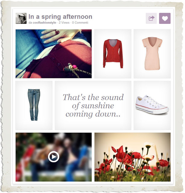 in a spring afrernoon mood board coolfashionstyle