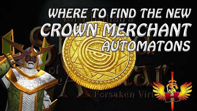 Where To Find The New Crown Merchants Automatons?