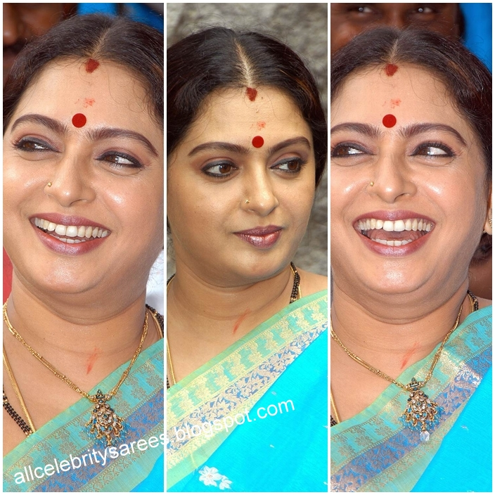 All Celebrities Sarees Designs: South Indian Celebrity