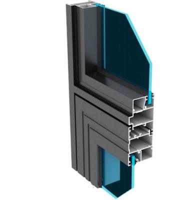 Mặt cắt cửa thanh nhôm xingfa cho mình thấy được ưu điểm cửa nó