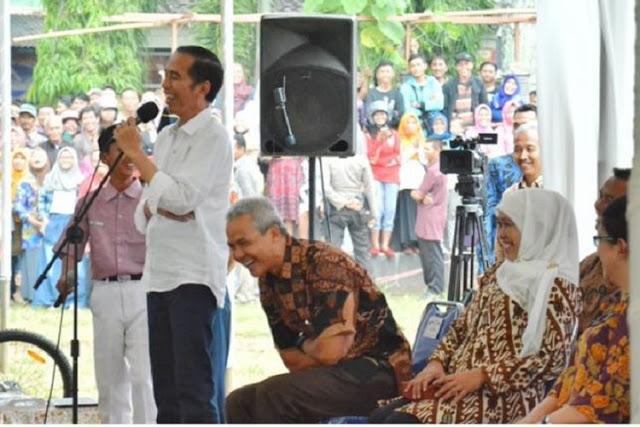 Jokowi Ngakak dengan Dialok Ngapak Siswa Anak SMP