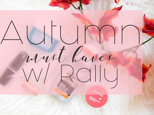 Есенните ми must haves w/ RoseRed's beauty blog
