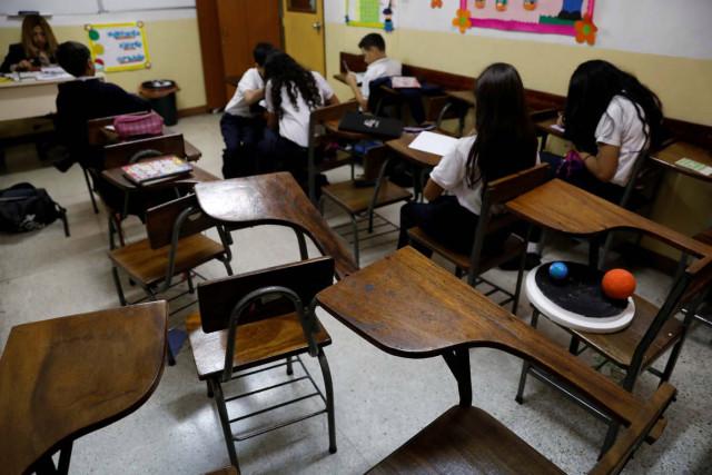 Matrículas escolares se ubican entre 20 y 50 millones de bolívares