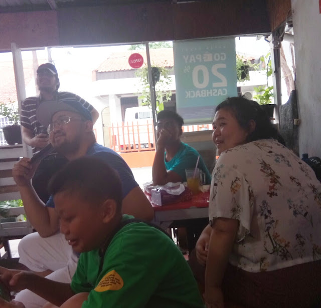 Asiknya ketemuan langsung dengan peserta master chef Indonesia saat nobar