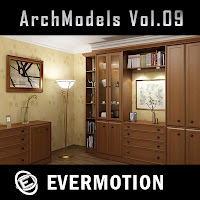 Evermotion Archmodels vol.09單體3dsMax模型合集第09期下載