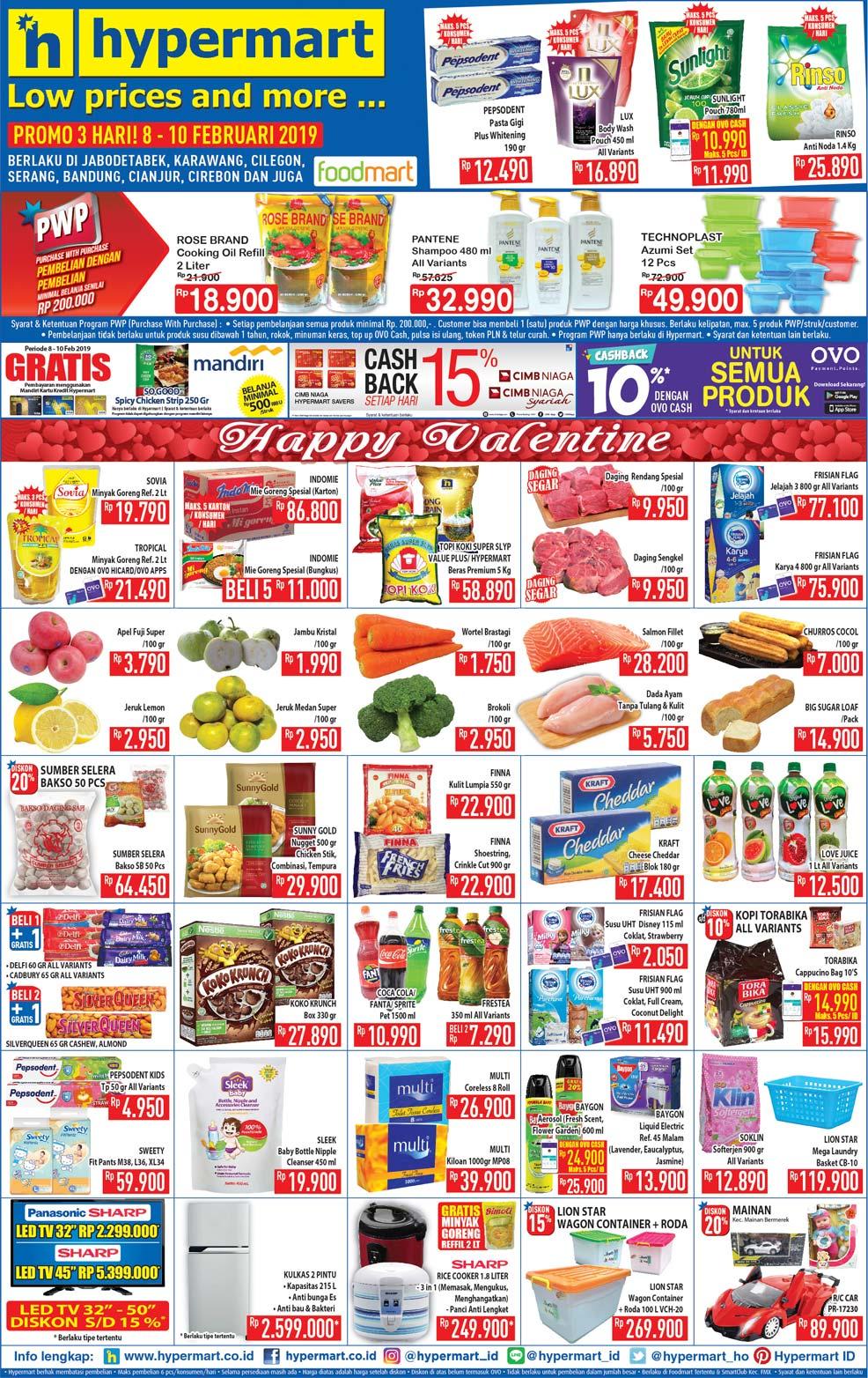 #Hypermart - #Promo #Katalog JSM Periode 08 - 10 Februari 2019