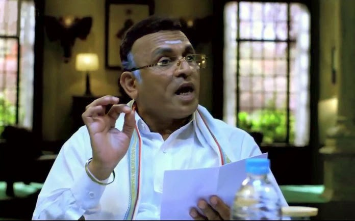 Annu Kapoor as former Chief Justice Ramalingam, in Jai Ho! Democracy, Co-directed by Ranjit Kapoor and Bikramjeet Singh Bhullar