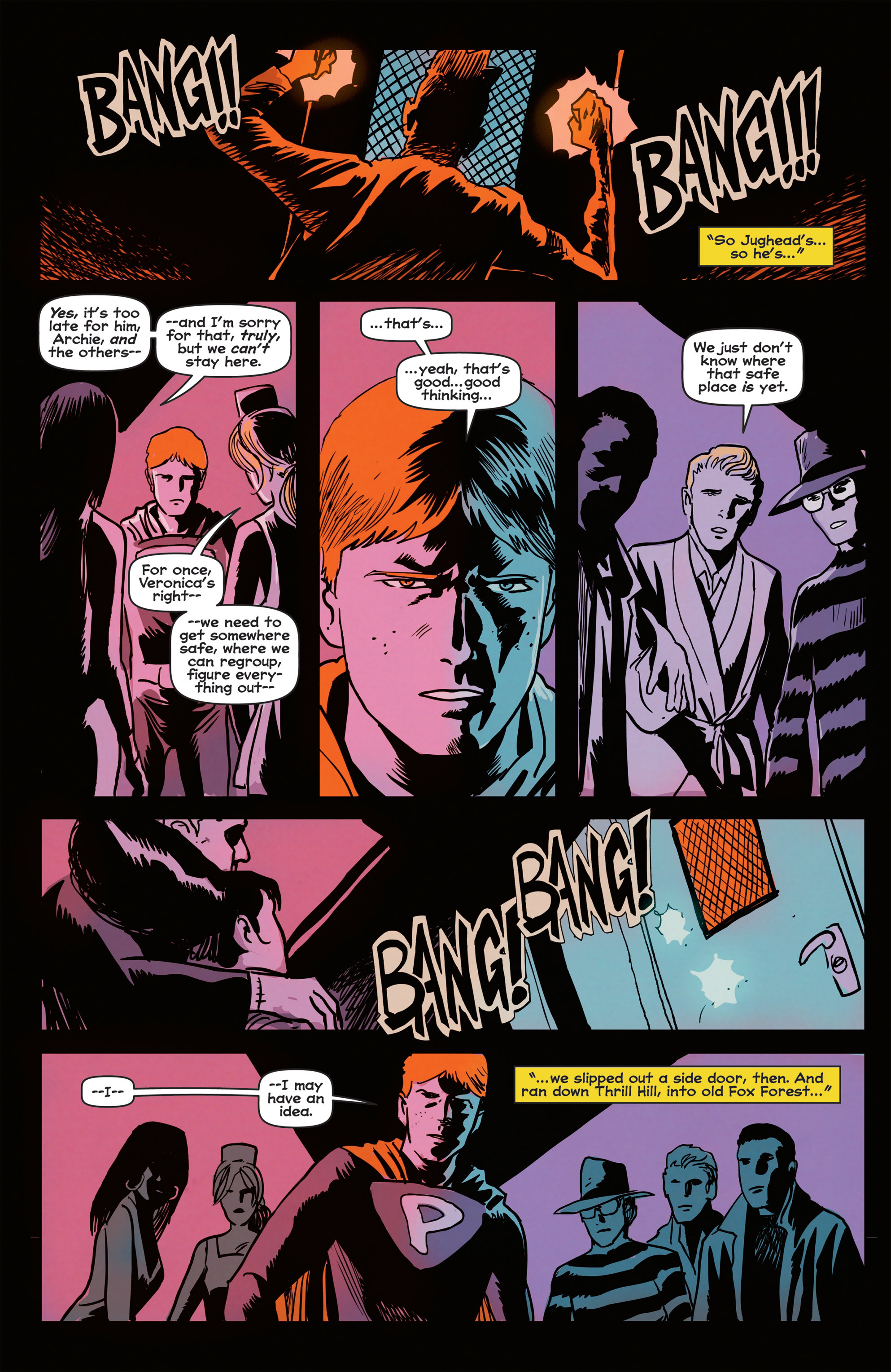 Read online Afterlife with Archie comic -  Issue #2 - 23