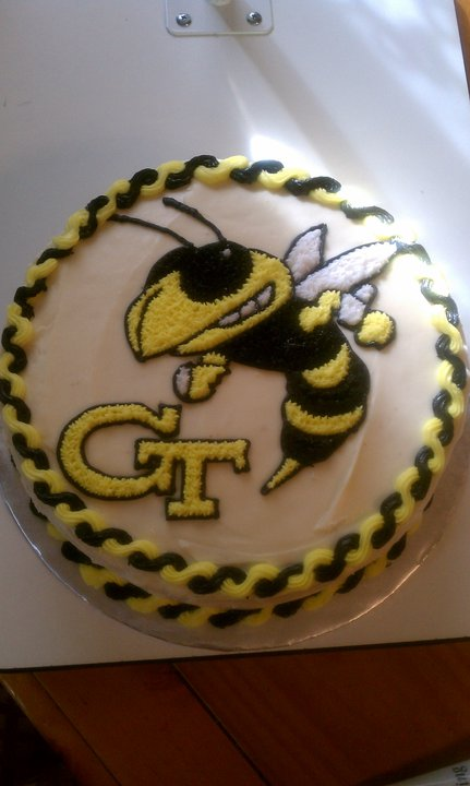 Introducing My Georgia Tech Cake Go Yellow Jackets