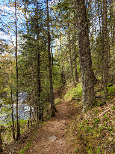 North Country National Trail at Pattison State Park