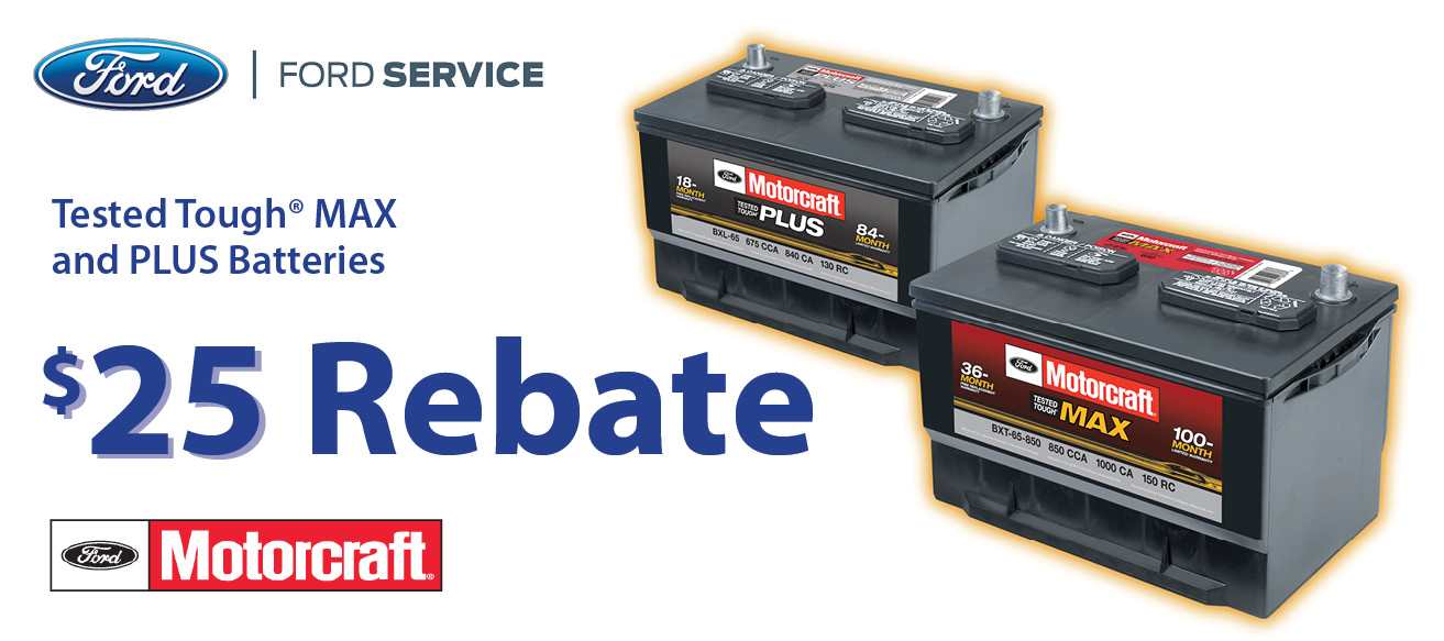 battery rebate 25 on tough max plus sioux city ford. Black Bedroom Furniture Sets. Home Design Ideas