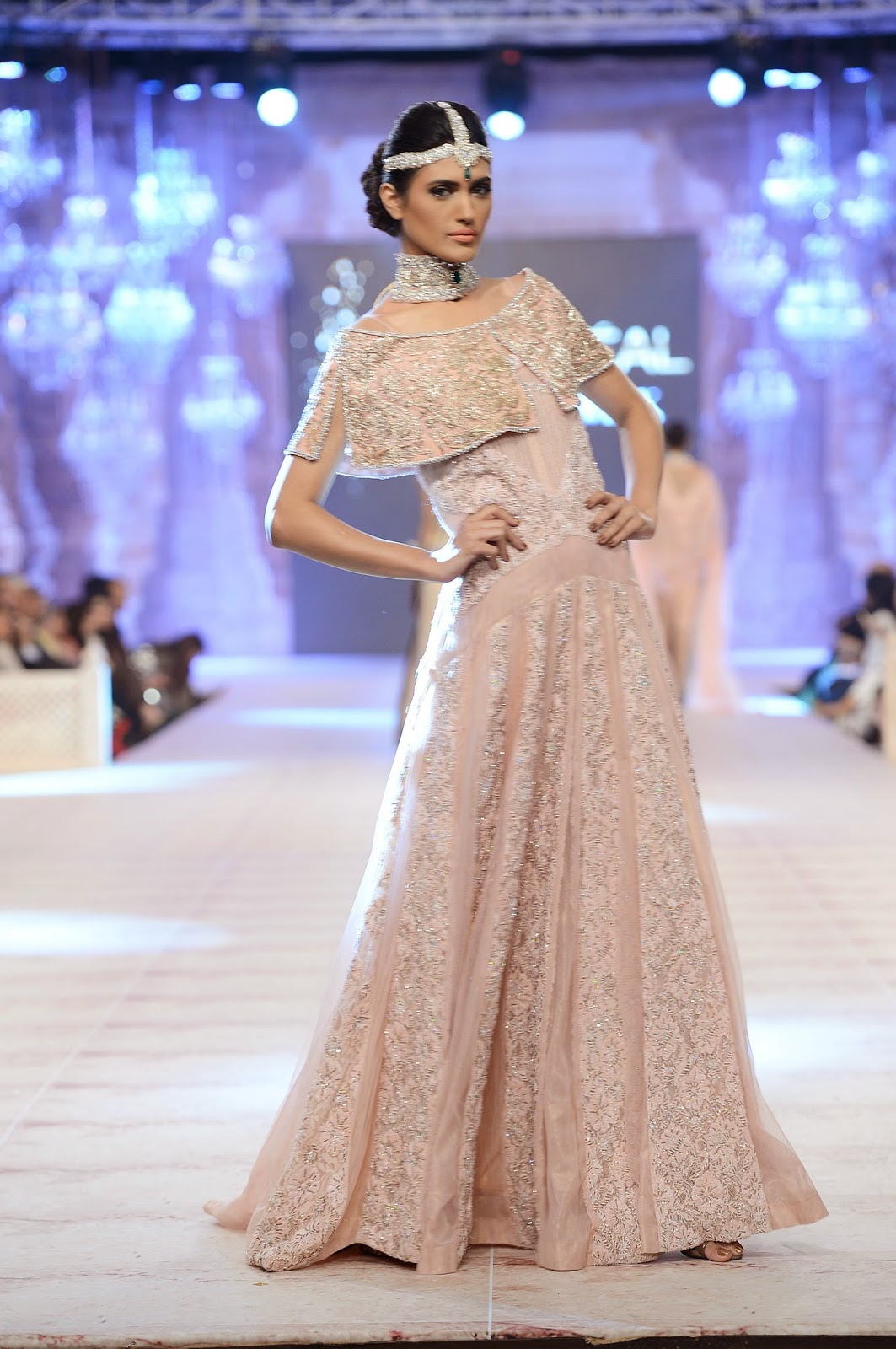 Saira Shakira Bridal Collection at PLBW 2014 Pakistan