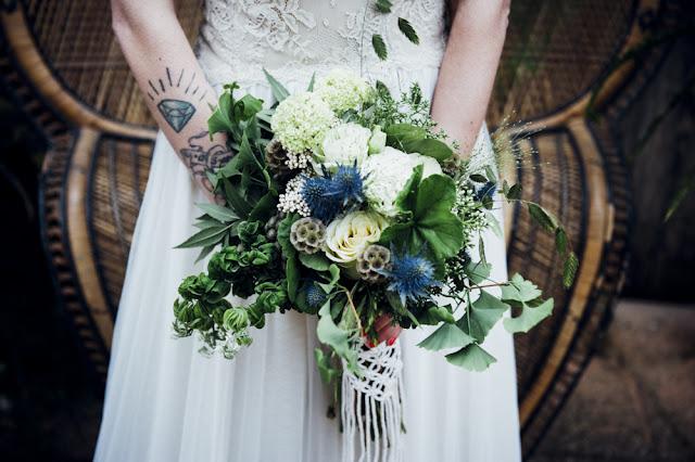 blog mi boda - ramo novia macrame