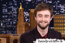 Daniel Radcliffe on The Tonight Show starring Jimmy Fallon