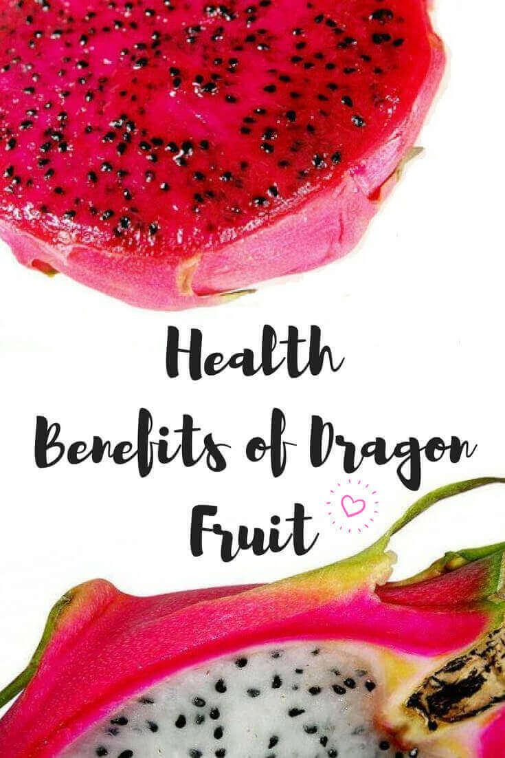 infographic health benefits of dragon fruit