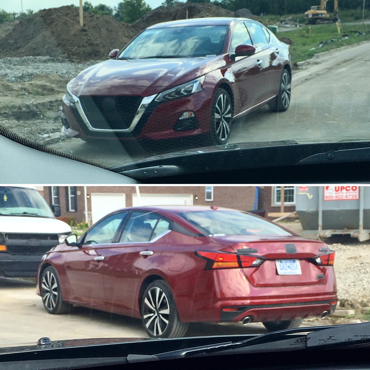 Adam's Autos: SPOTTED! The New 2019 Nissan Altima