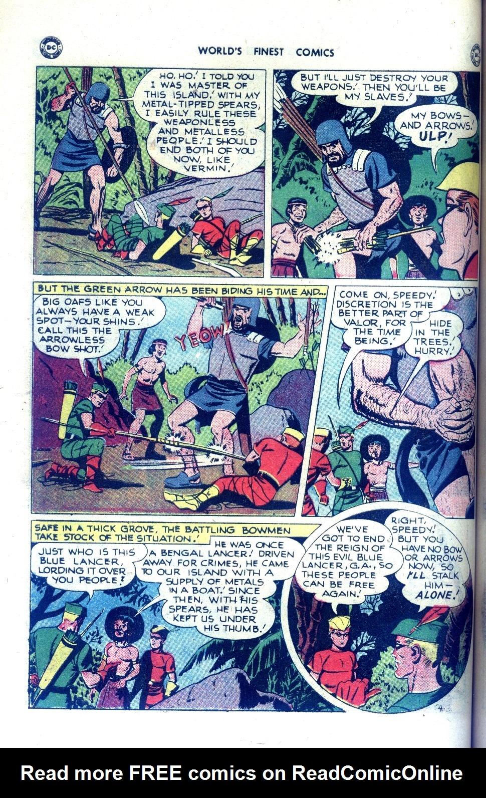 Read online World's Finest Comics comic -  Issue #43 - 44