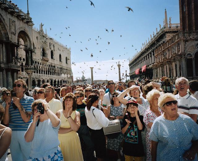 Venezia, Italia, 1989. Fotografia di Martin Parr