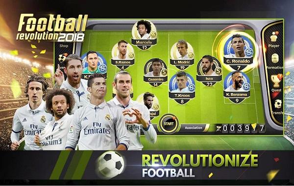 Download Soccer Revolution 2018 Mod APK Android Game