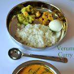 Verum Curry Recipe | Nagercoil Special Verum Curry | Thengai Kuzhambu | Simple Coconut based Gravy