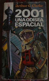 Portada del libro 2001. Una odisea espacial, de Arthur C. Clarke