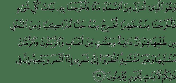 Surat Al-An'am Ayat 99