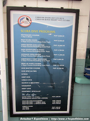 Camayan Beach Resort Entrance Fee