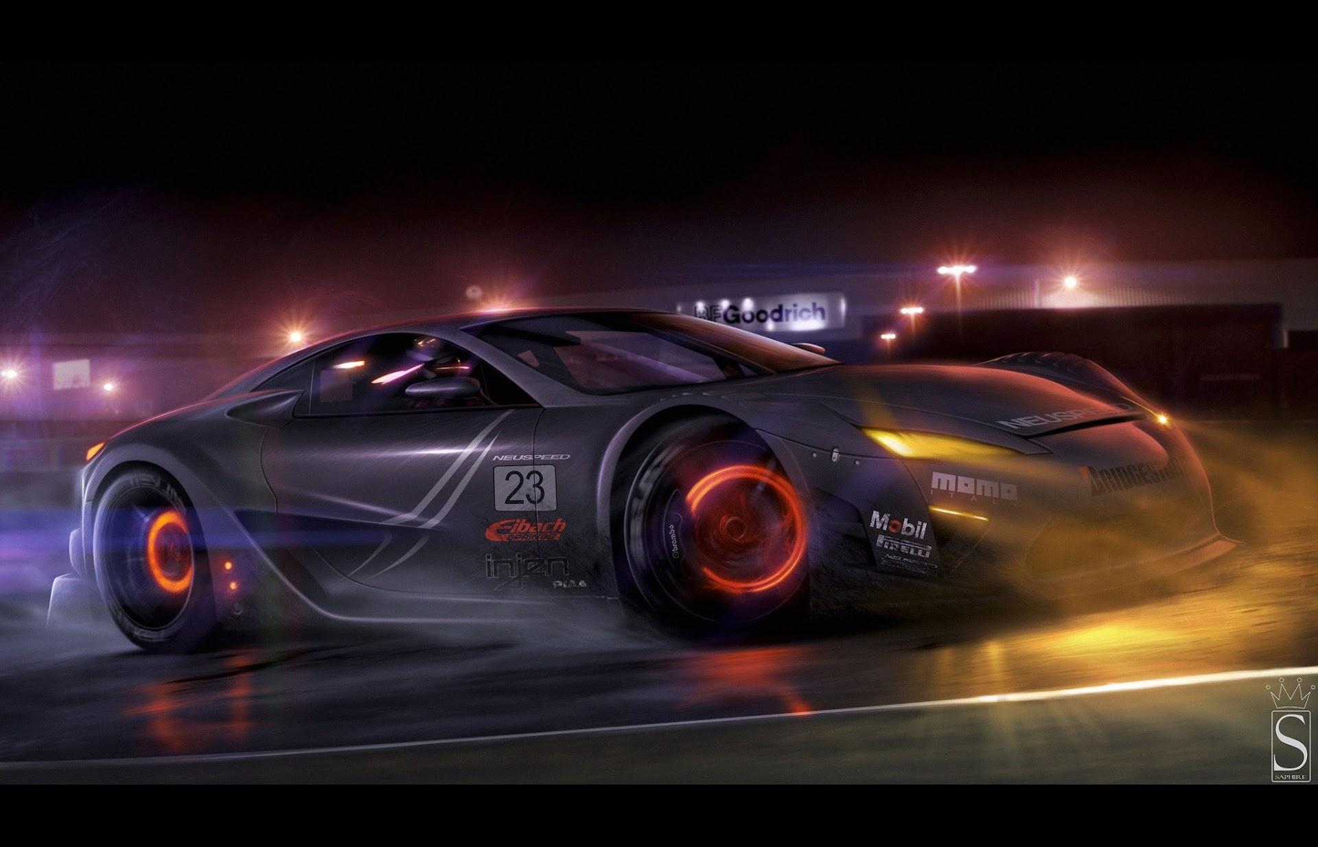 Papel De Parede Super Carros Tunados Esportivos