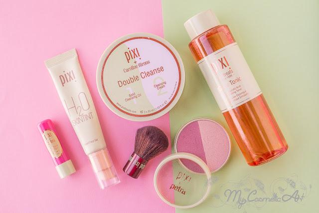 Mi experiencia con Pixi: tónico, limpiador doble y productos de maquillaje.