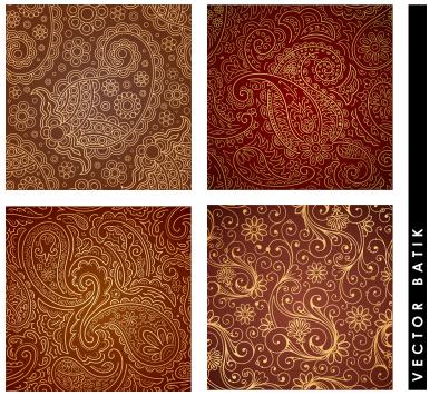 Vector Batik Elegan Format Coreldraw Belajar Coreldraw