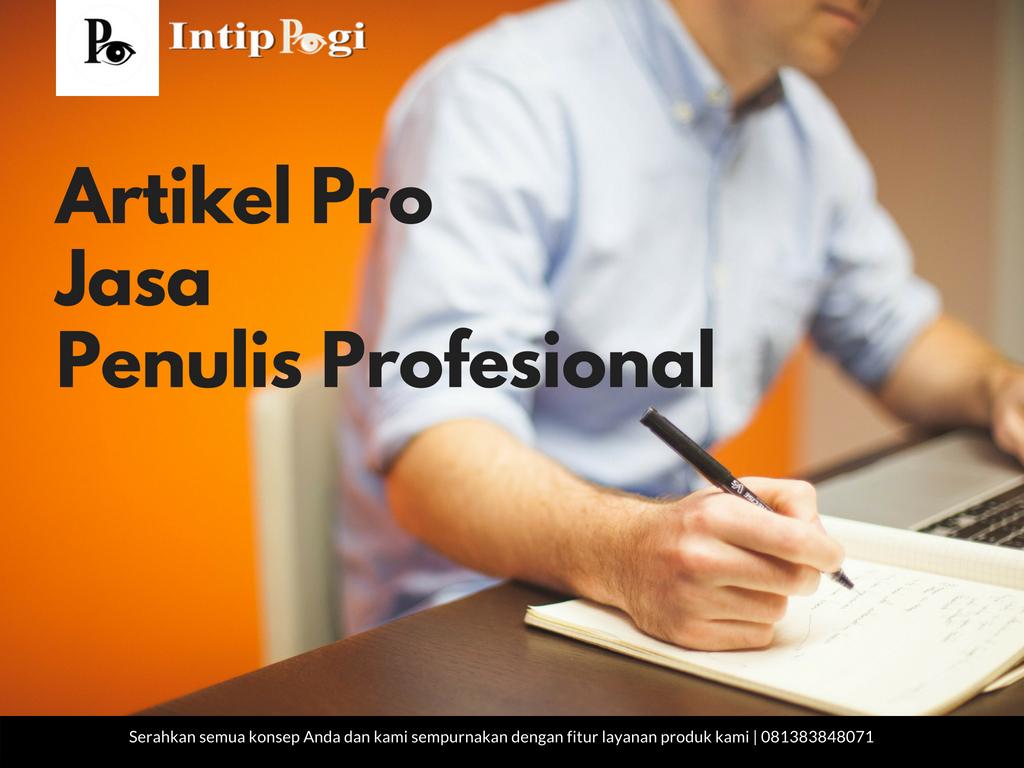Jasa Penulisan Artikel Profesional