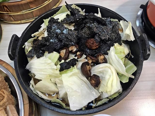 素海苔壽喜燒火鍋