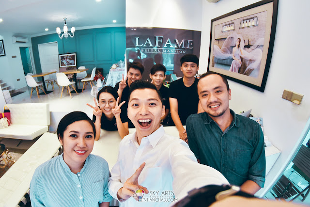 Thanks to the awesome team from LaFame Bridal Mansion SS2!