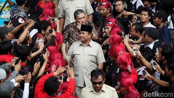 Massa KSPI Long March dari Surabaya ke Jakarta demi Prabowo