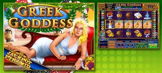 Slot Madness casino Greek Goddess slot